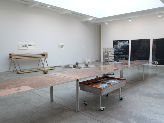 Oscar Murillo - Galerie Marian Goodman
