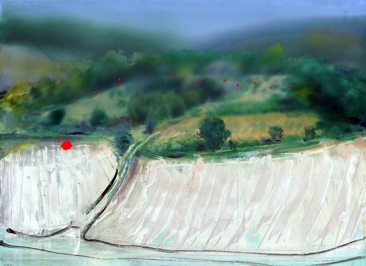Galeriederouillon fb la grande battue 2014 huile sur toile 138x190 cm large2