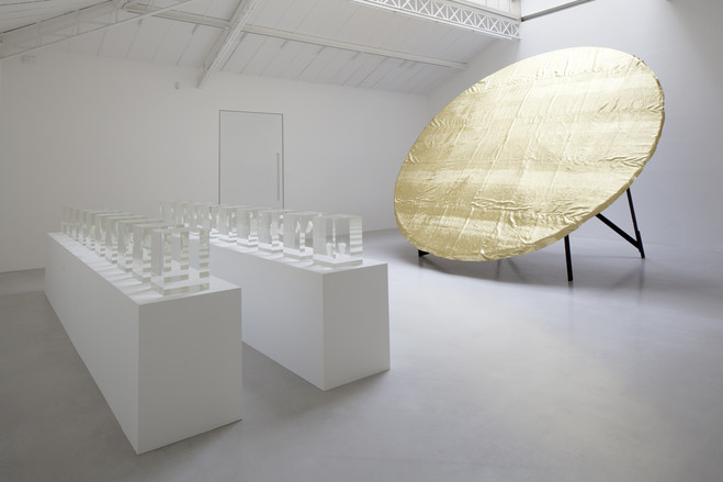 Anish Kapoor & James Lee Byars - Galerie Kamel Mennour