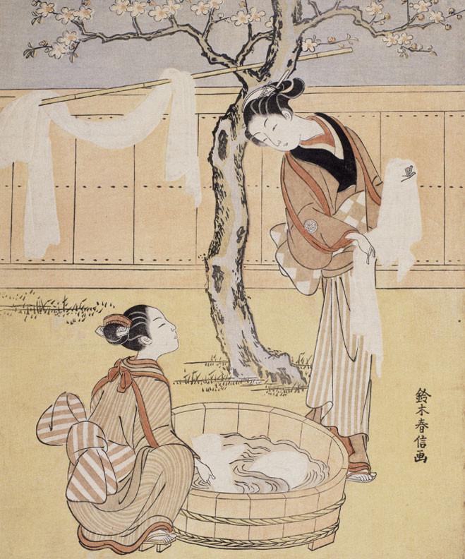 Harunobu, un poète du féminin - Musée Guimet