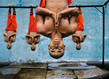 Shaolin monks training zhengzhou china 2004 large grid