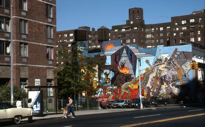 Flash-back, Murals, États-Unis, années 70 - Galerie municipale  Jean-Collet