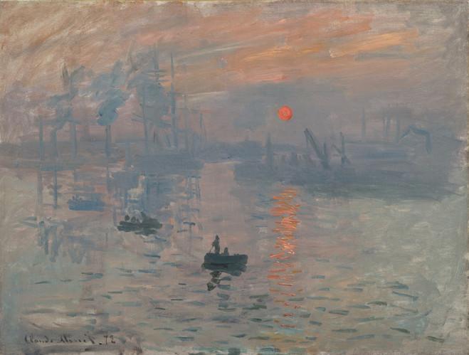 Impression, soleil levant - Musée Marmottan Monet