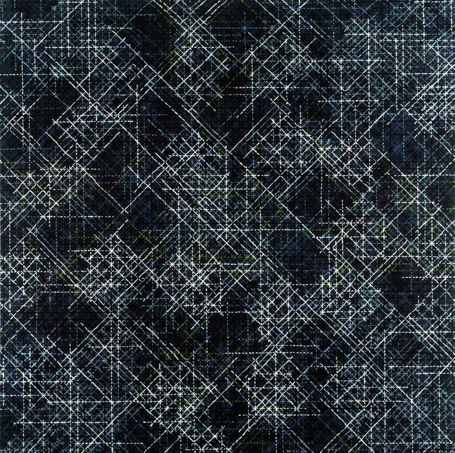 Ding Yi - Karsten Greve Gallery