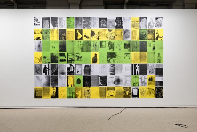 Epais, lourd, massif — Performance de l'artiste Hendrik Hegray - Fondation d'entreprise Ricard