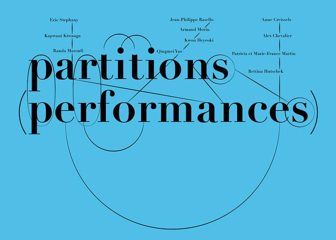 Partitions performances hors les murs fondation d entreprise ricard lecture slash paris - Partition les murs porteurs ...