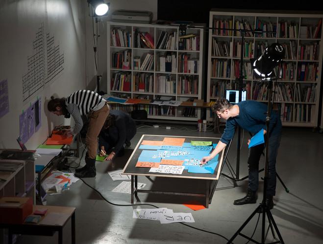 Degré 48 de g.u.i. par les Laboratoires d'Aubervilliers et Daniel Foucard - CNEAI = Centre National Édition Art Image