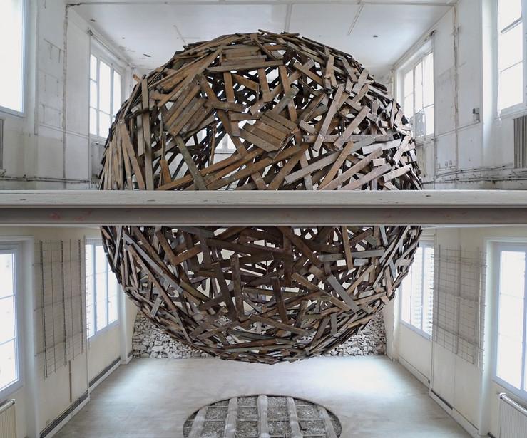 Sambre sphere 2013 artiste fran ais galerie jerome pauchant paris large2