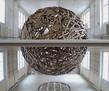 Sambre sphere 2013 artiste fran ais galerie jerome pauchant paris tiny