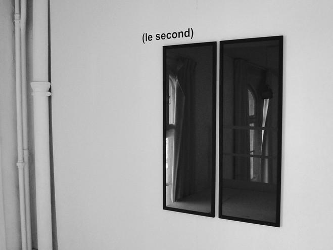 Reflets, coïncidence. - Galerie Escougnou-Cetraro