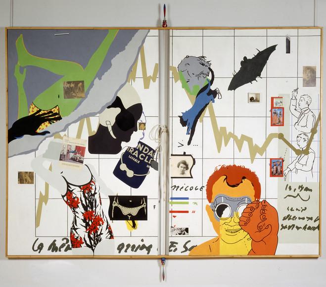 Hervé Télémaque - Centre Georges Pompidou