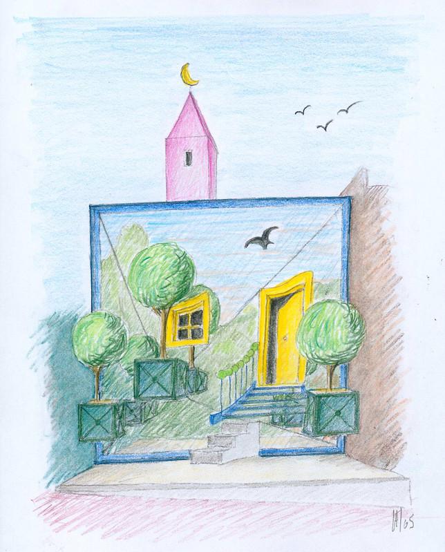 Seule la poésie permet d'habiter le ciel - Centre d'Art Contemporain Chanot CACC