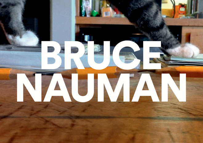 Bruce Nauman - Fondation Cartier pour l'art contemporain