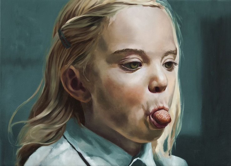 Markus akesson girl with a cloisonne tongue 2014 large2