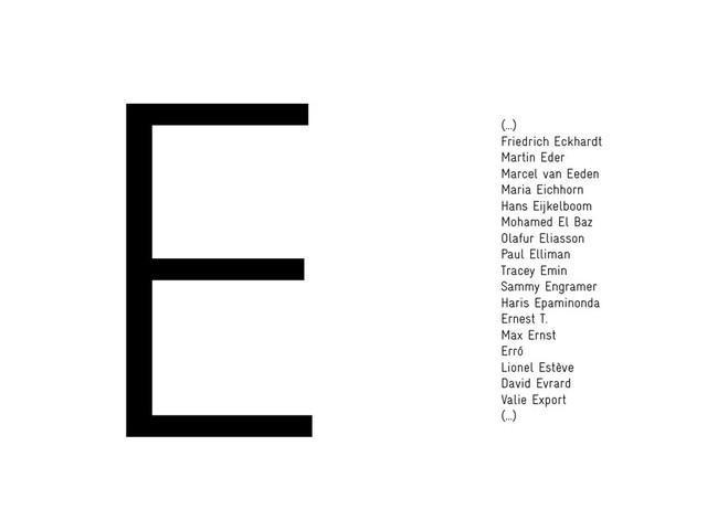 Lettre E—Livres d'artistes et éditions limitées - Eva Meyer Gallery