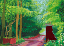 David Hockney - Galerie Lelong & Co