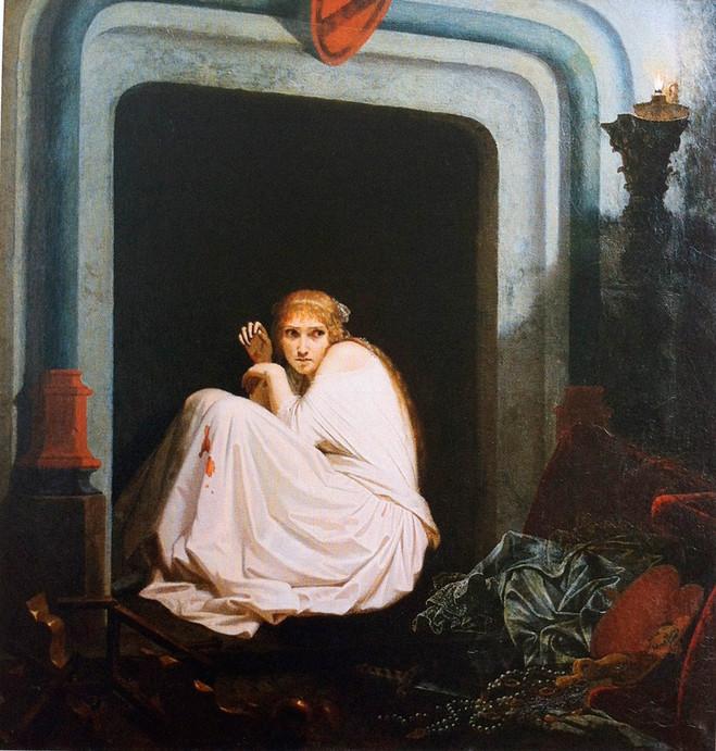 Visages de l'effroi, Violence et Fantastique de David à Delacroix - Musée de la Vie Romantique