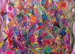 Pedro varela pintura mdm emaranhado geom trico detalhe grid