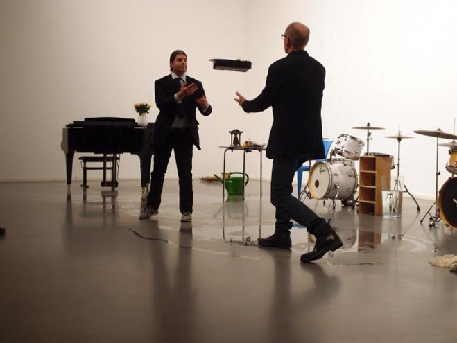 Christian Marclay & John Armleder - CCS — Centre culturel suisse