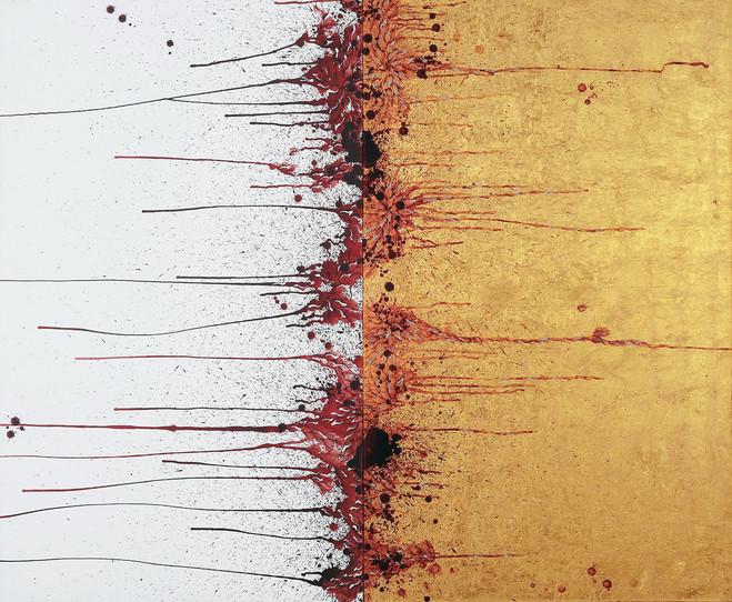 Imran Qureshi - Galerie Thaddaeus Ropac Marais