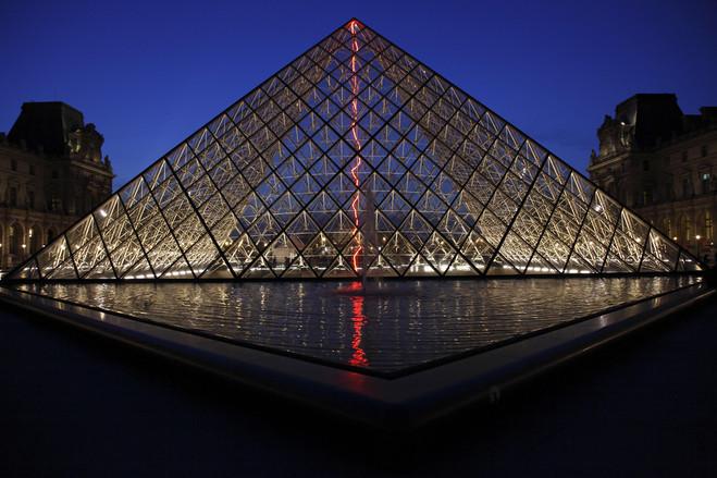 Claude Lévêque - Le Louvre