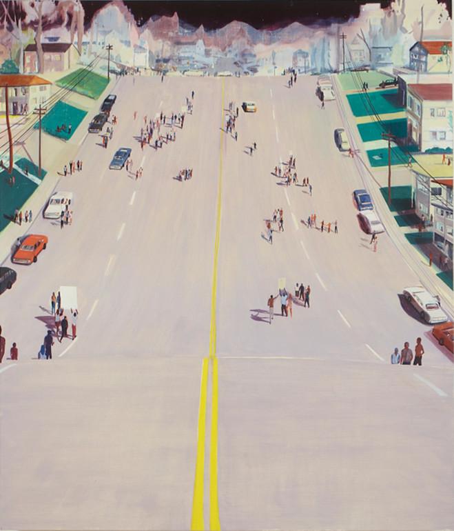 Jules de Balincourt - Galerie Thaddaeus Ropac Marais
