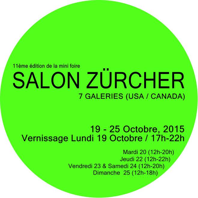 Salon Zürcher - Galerie Zürcher