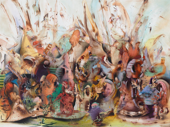 Ali Banisadr - Galerie Thaddaeus Ropac Marais
