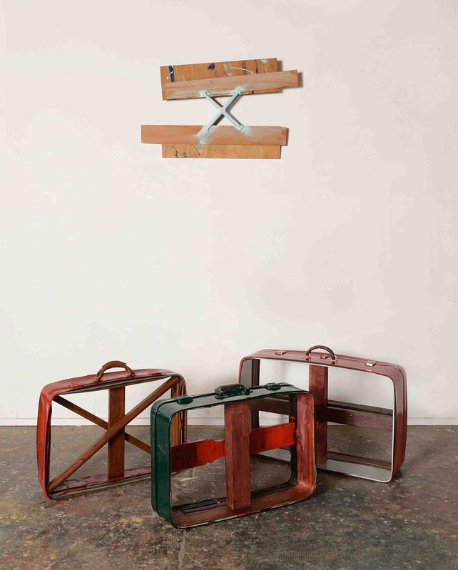 Daniel Dezeuze - Galerie Daniel Templon