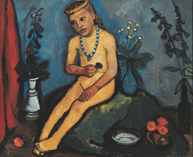 Paula Modersohn-Becker - Musée d'Art Moderne de la ville de Paris