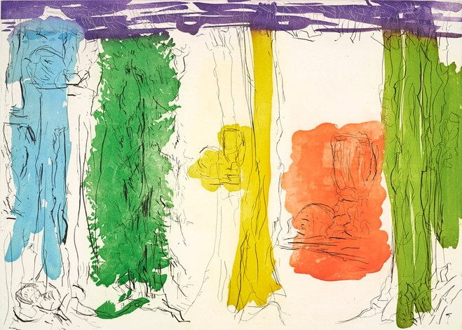 Per Kirkeby - Galerie Catherine Putman