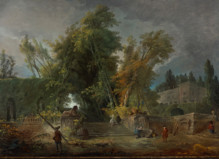 Hubert Robert, 1733-1808 - Le Louvre