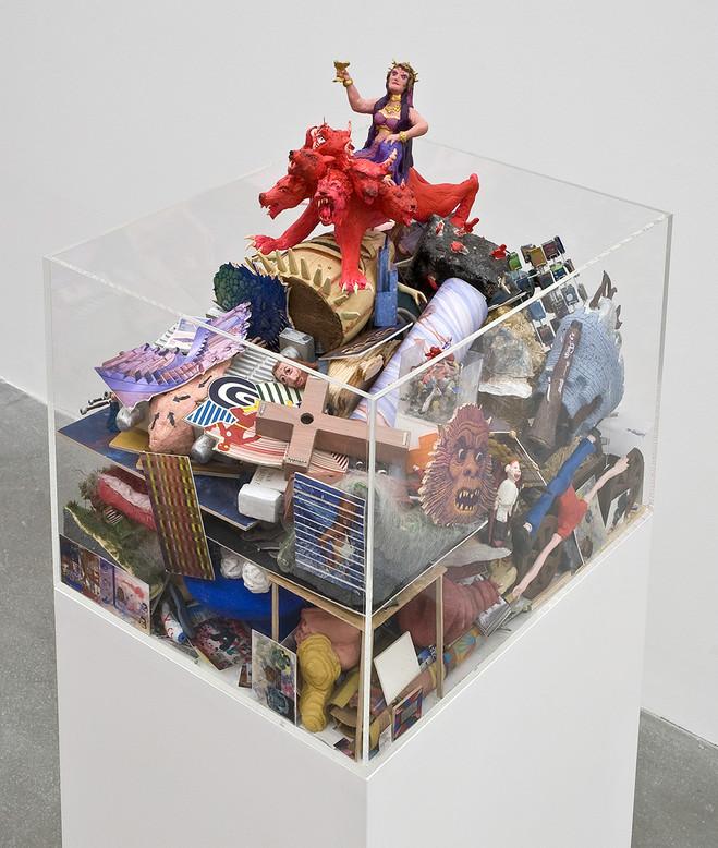 Jim Shaw - Praz-Delavallade Gallery