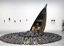Romuald Hazoumè - Galerie Gagosian, Le Bourget