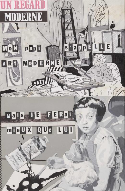 Ne te retourne pas -  La  Maison d'Art Bernard Anthonioz