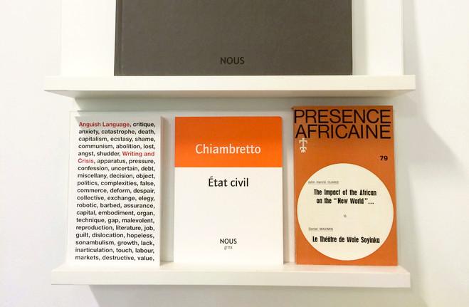 Lecture d'Etat civil de Sonia Chiambretto - Les Laboratoires d'Aubervilliers
