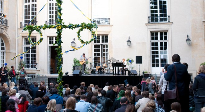 Fête de la musique : fête traditionnelle suédoise + concerts - Institut suédois