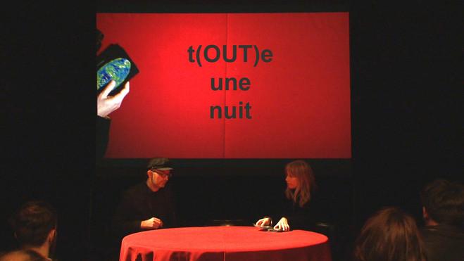 t(OUT)e une nuit—Comité Nocturne #2 - Les Laboratoires d'Aubervilliers