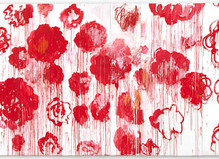 Cy Twombly - Centre Georges Pompidou