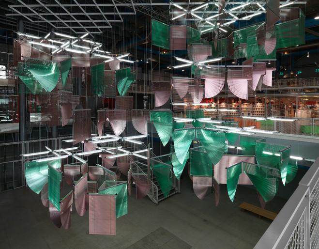 Haegue Yang - Centre Georges Pompidou