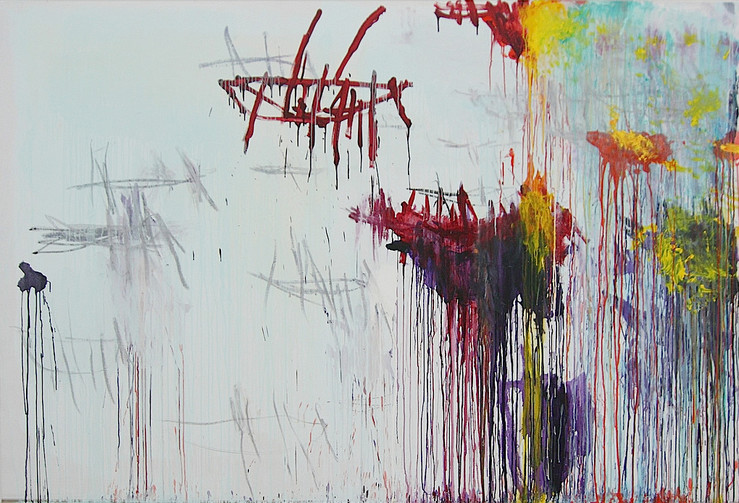 Cy twombly lepanto 2001 painting large2