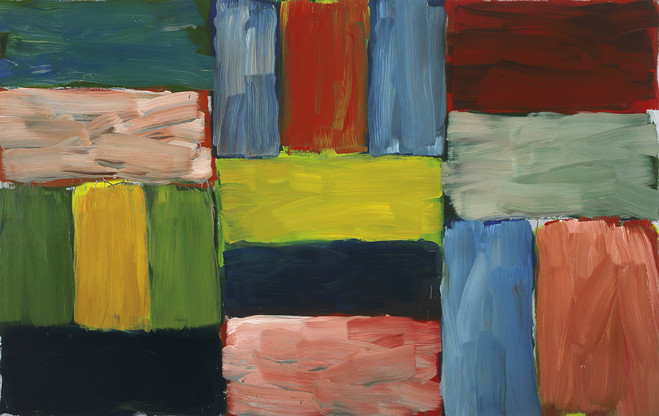 Sean Scully - Lelong & Co Gallery