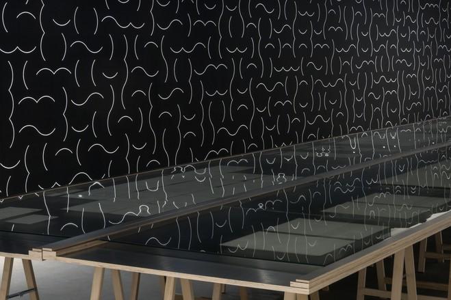 Lucinda Childs / Sol LeWitt - Galerie Thaddaeus  Ropac Paris Pantin