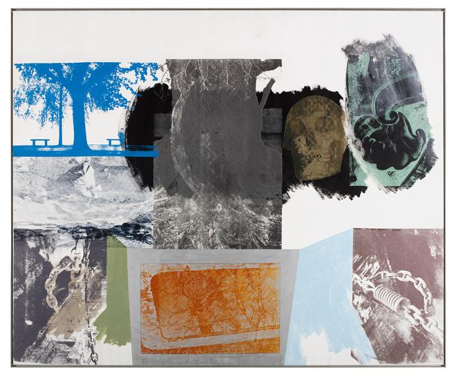 Robert Rauschenberg - Thaddaeus Ropac Marais Gallery