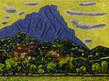 Vincent bioules face nord huile sur toile tiny