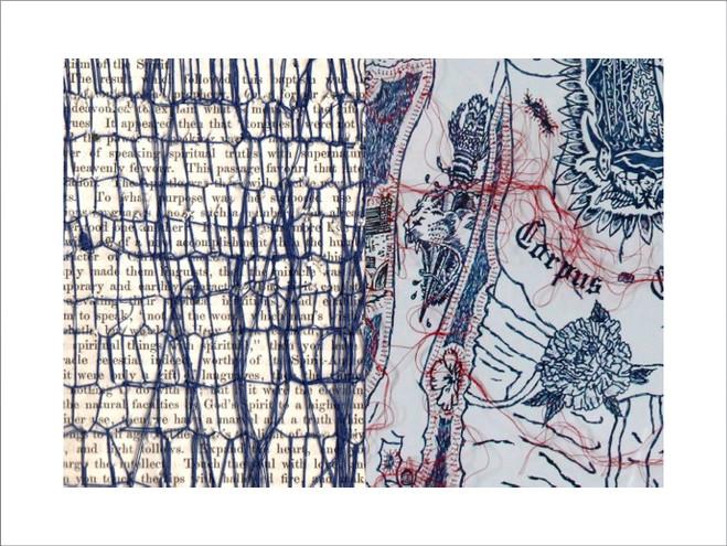 Histoires de points - Galerie Laure Roynette