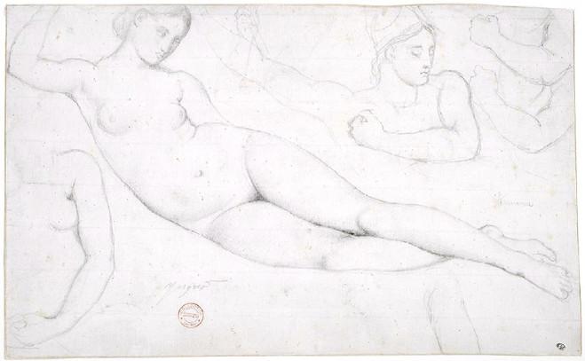Ingres et ses élèves - École nationale des Beaux Arts de Paris — Cabinet des dessins