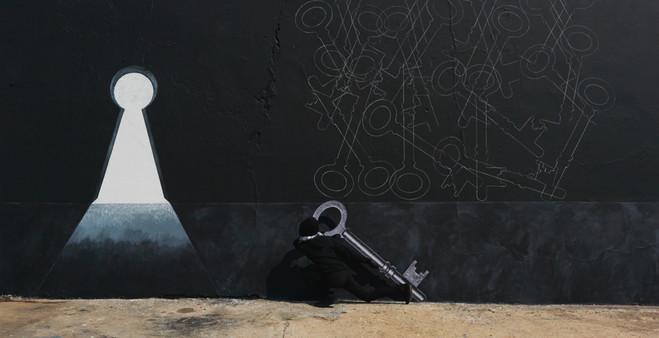 Robin Rhode - Galerie Kamel Mennour