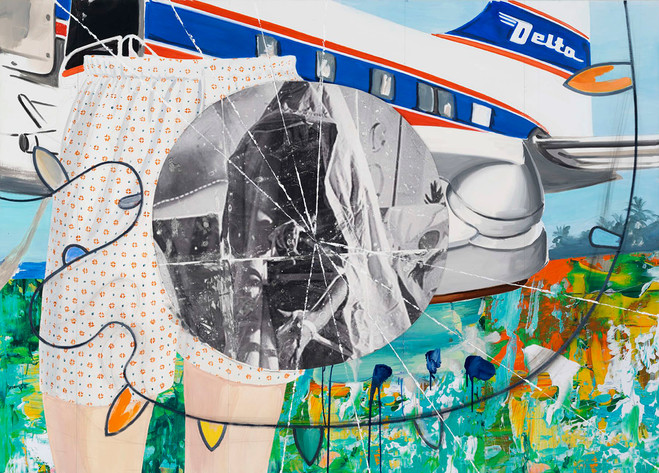 David Salle - Galerie Thaddaeus Ropac Marais