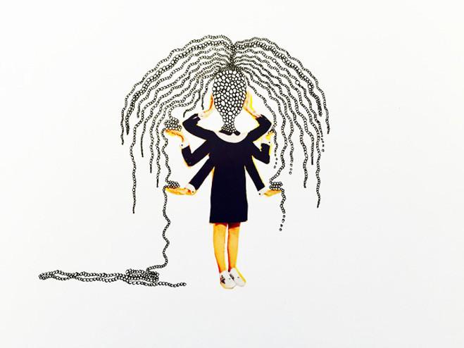 Sans tête / No head - Galerie Laure Roynette